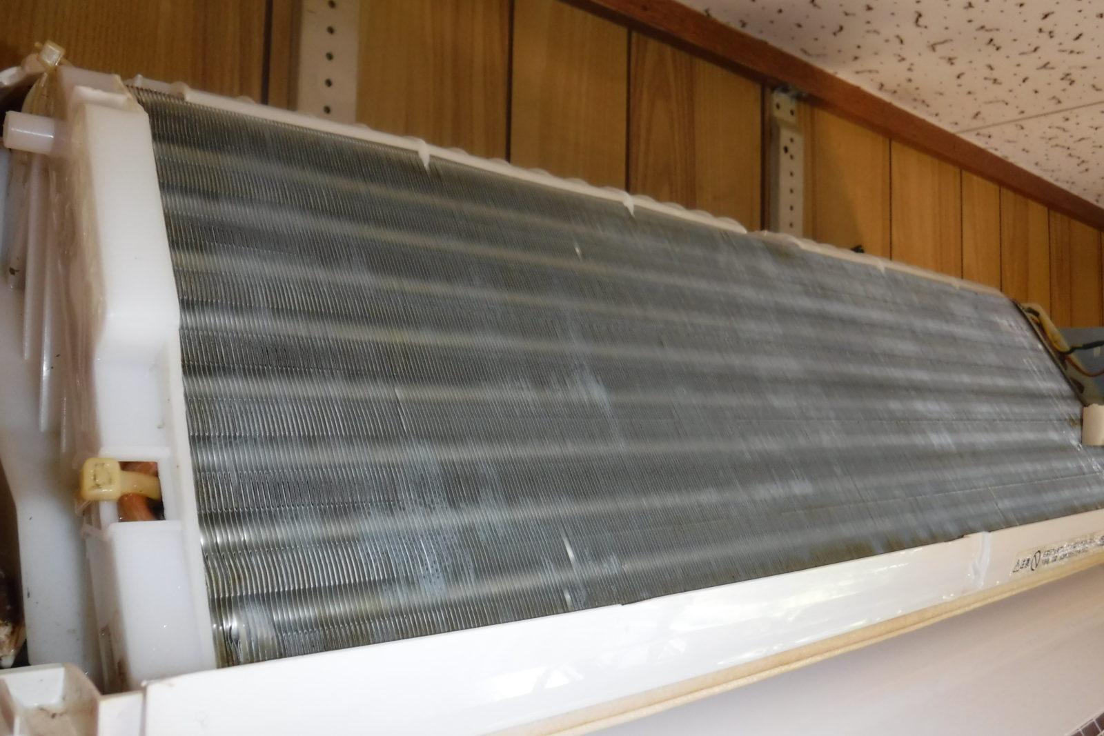 ヤニ汚れの熱交換器アフター